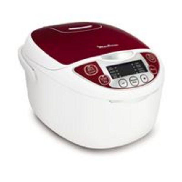 Moulinex mk705111 multicuiseur traditionnel 12-en-1 rouge 5 l offre à 67,09€