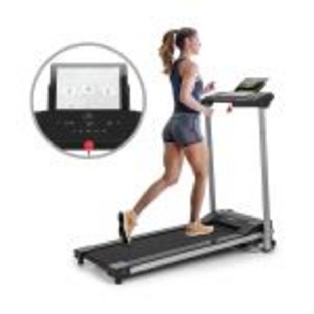Klarfit Treado Active Tapis de course cardio training - Vitesse 10 km/h max. - 12 programmes - Noir offre à 379,99€