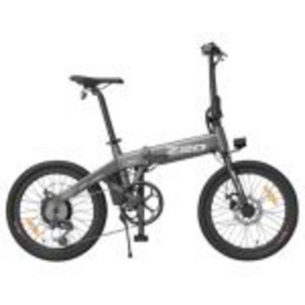"""Vélo électrique pliant HIMO Z20 Gris - Pliable, 20"""", 250W, Batterie amovible 10Ah offre à 752€"""
