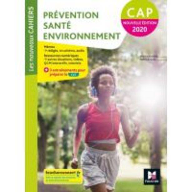 Les nouveaux cahiers - PREVENTION SANTE ENVIRONNEMENT PSE CAP - Manuel élève - broché offre à 15,5€