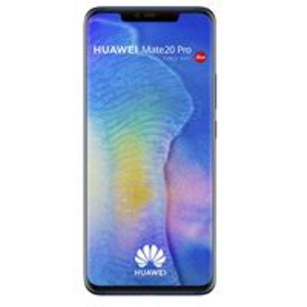 Smartphone Huawei Mate 20 Pro Double SIM 128 Go Bleu offre à 549€