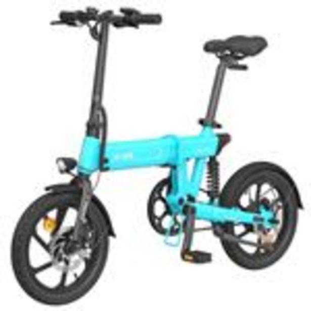 """Vélo électrique pliant HIMO Z16 Bleu - Pliable, 16"""", 250W, Batterie amovible 10Ah offre à 549€"""