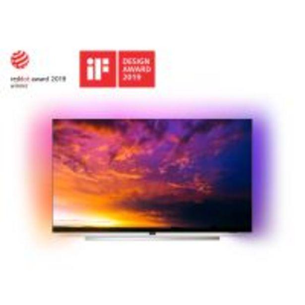 TV Philips 55OLED854 UHD 4K Ambilight 3 côtés Android TV 55'' application Disney+ disponible offre à 1599€