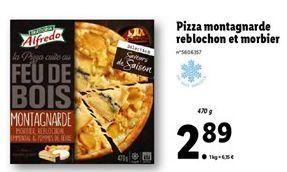 Pizza surgelée offre à 2,89€