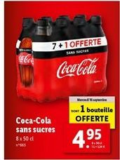 Coca-cola Coca cola offre à 4,95€