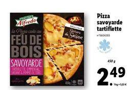 Pizza surgelée offre à 2,49€