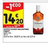 Whisky offre à 14,2€