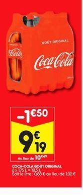 Coca-cola offre à 9,19€