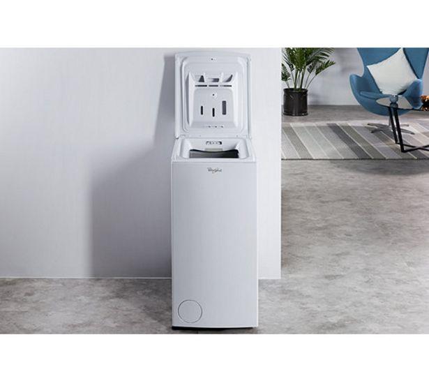 WHIRLPOOL Lave-linge top TDLR65212 Blanc offre à 399,99€
