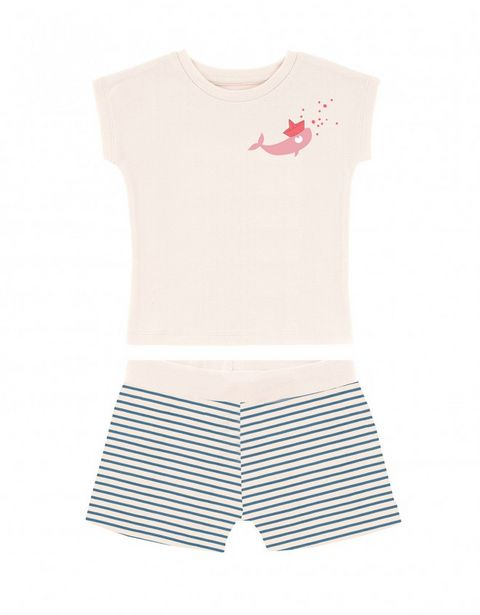 Pyjama baleine rose offre à 39,9€