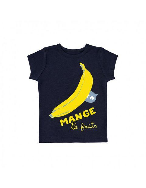 T-shirt bleu marine banane offre à 23,9€