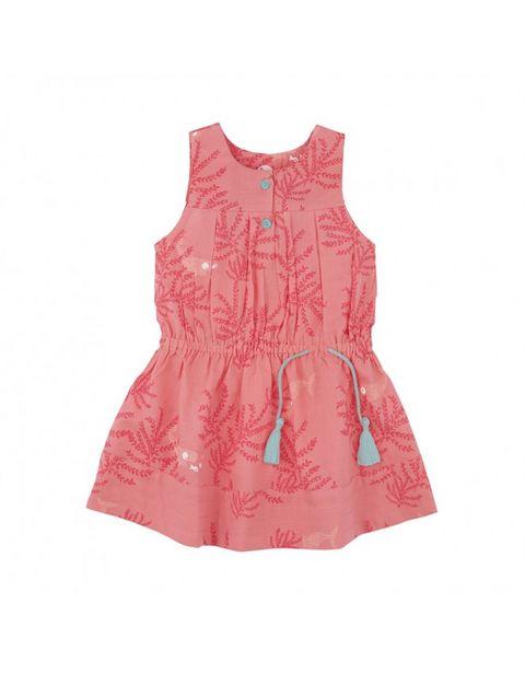 Robe fille rose corail offre à 43,9€