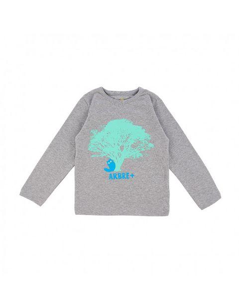 T-shirt tilleul gris chiné offre à 24,9€