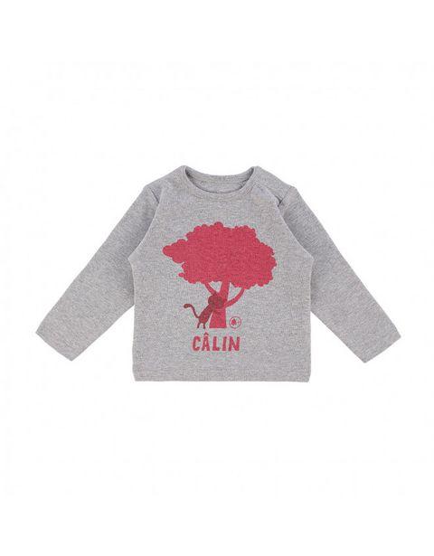 T-shirt chêne gris chiné offre à 23,9€