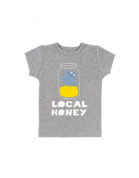 T-shirt chiné local honey offre à 23,9€