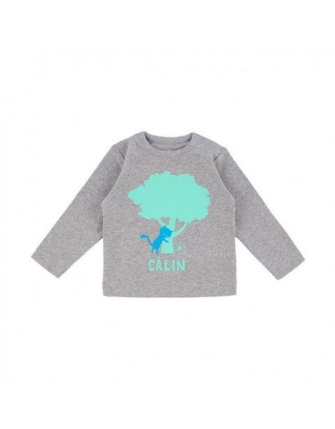 T-shirt tilleul gris chiné offre à 23,9€