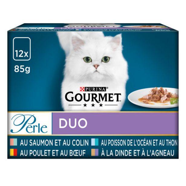 Croquettes pour chat adulte offre à 6,2€