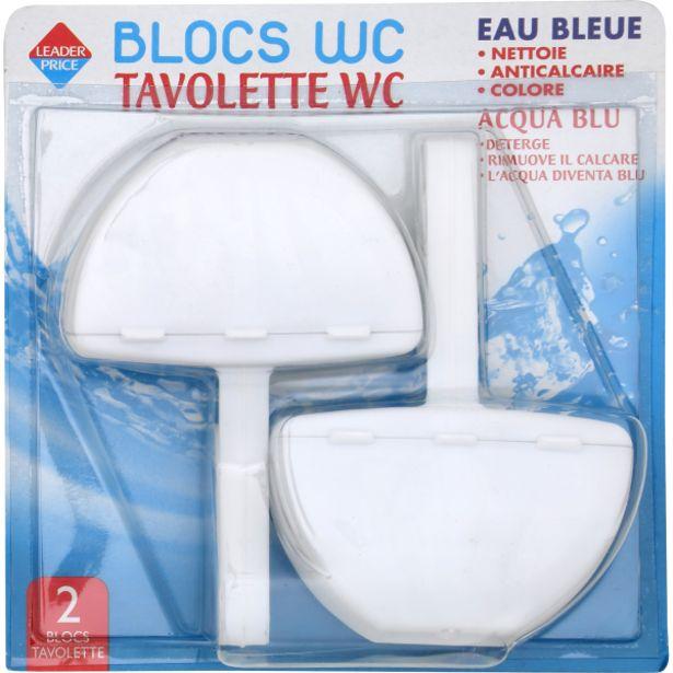 Blocs WC eau bleue offre à 1,55€
