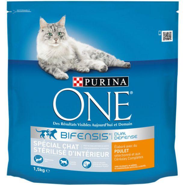 Croquettes chats d'intérieur offre à 7,25€