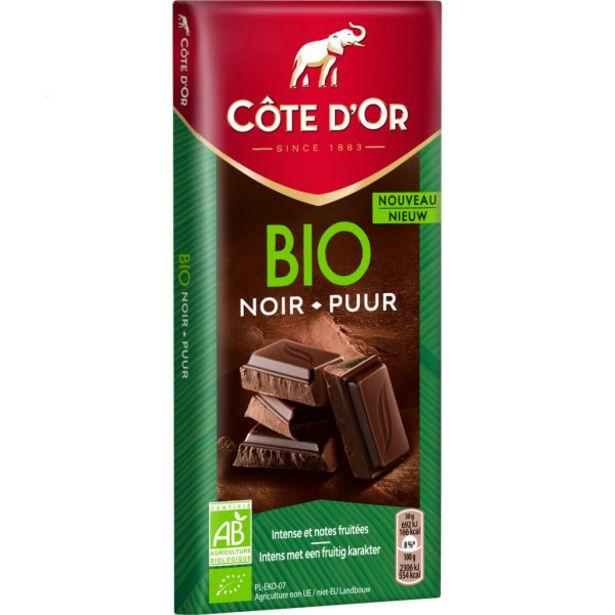 Chocolat noir Bio offre à 3€