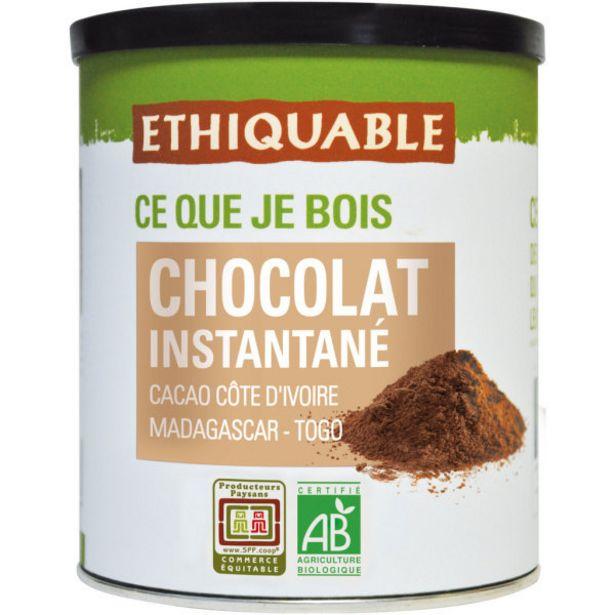 Chocolat en poudre équitable Bio offre à 4,19€