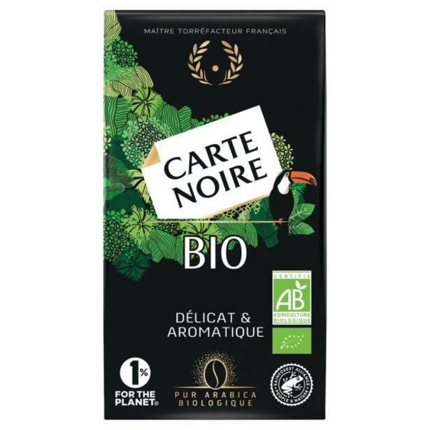 Café moulu Bio offre à 3,8€