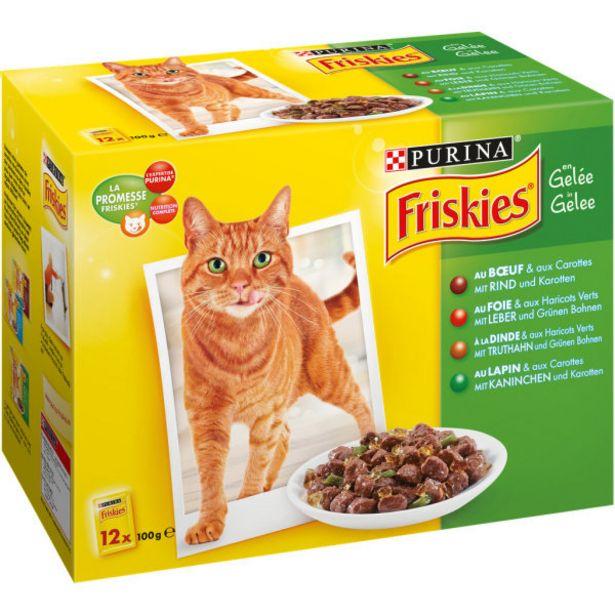 Gelée à la viande pour chat offre à 4,2€