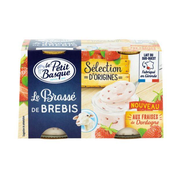 Brassé de brebis à la fraise offre à 2,2€