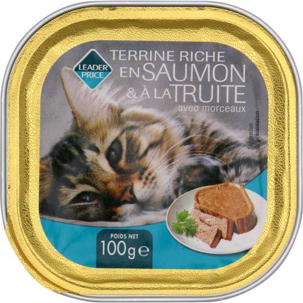 Aliments pour chat offre à 0,65€