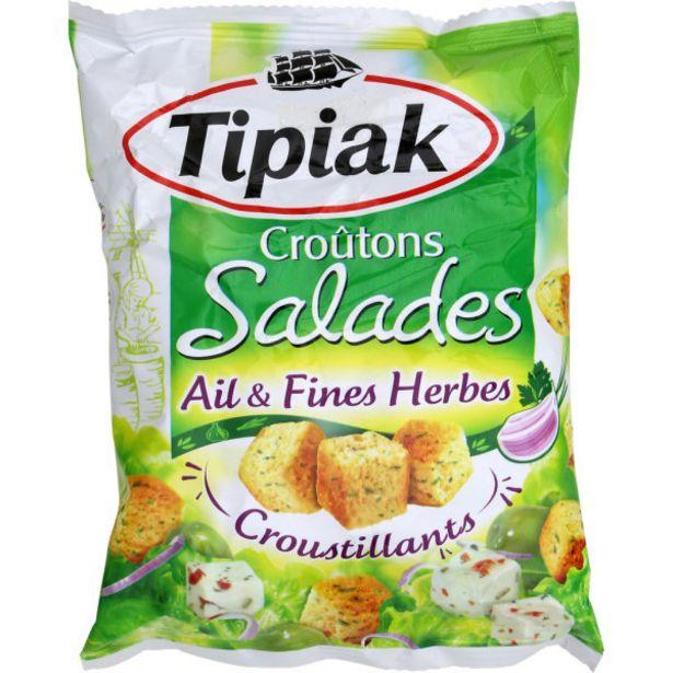 Croûtons pour salade offre à 1,6€