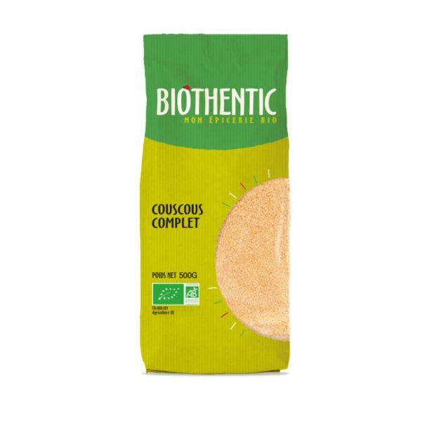Couscous complet de blé dur bio offre à 2,49€