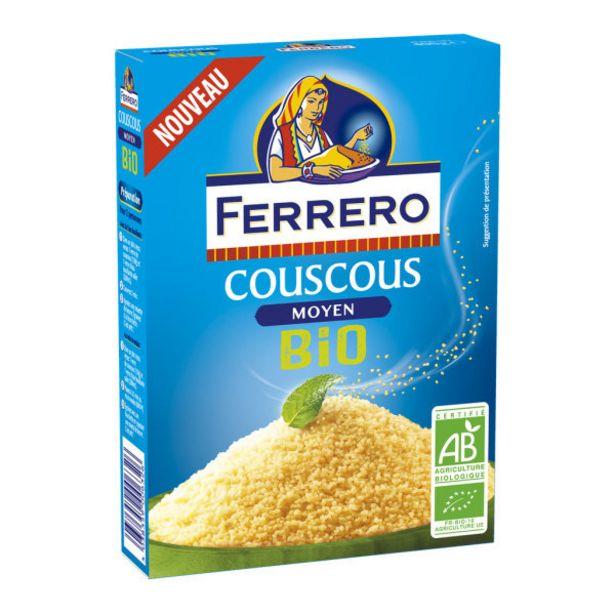 Couscous bio offre à 2,3€