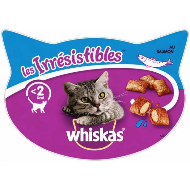 Friandises au saumon pour chat offre à 1,5€