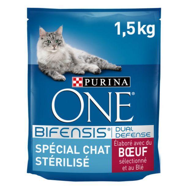 Croquettes pour chat au boeuf offre à 7,75€