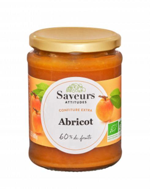 Confiture extra d'Abricot bio 600g offre à 4,51€