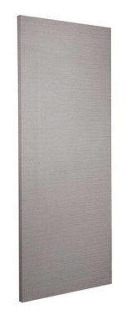 Porte seule revêtue Gris H204xL73cm offre à 89€