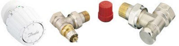 Kit robinet thermostatique équerre RA2990 DANFOSS offre à 36,9€