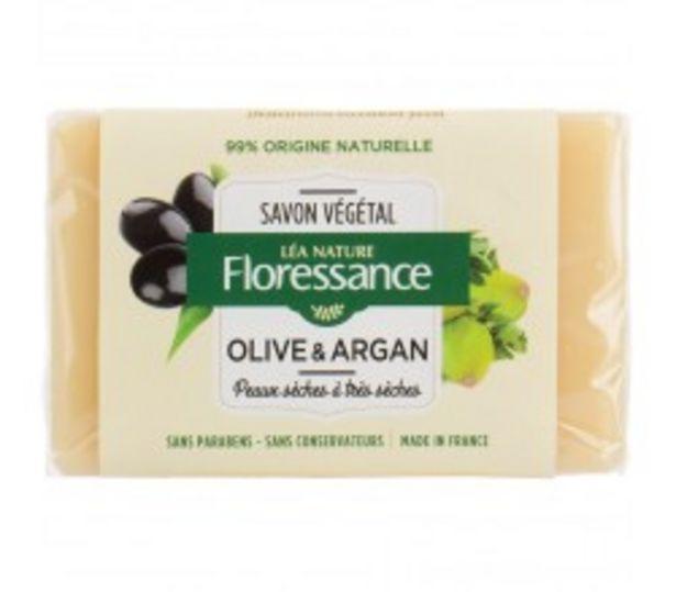 Savon végétal Olive et Argan 100g offre à 2,2€