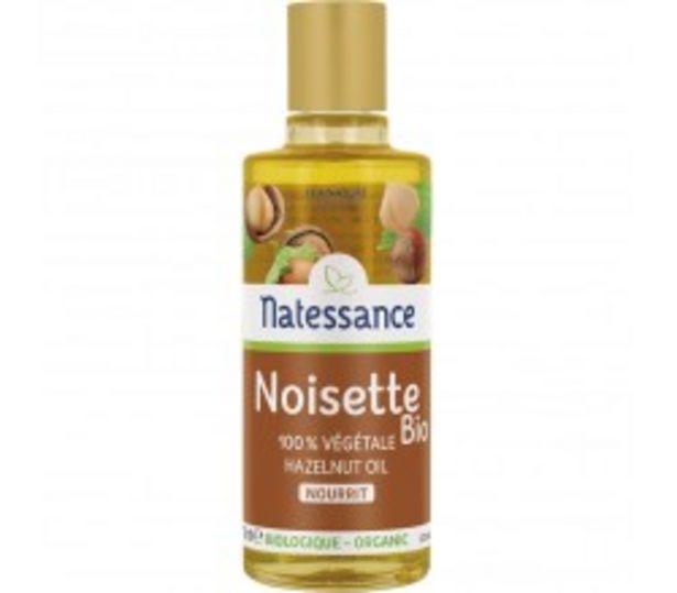 Huile de Noisette Bio - Nourrit - 100ml offre à 13,9€