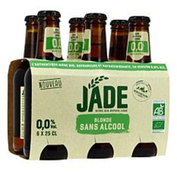 Bière Blonde sans alcool 6x25cl Bio offre à 4,79€
