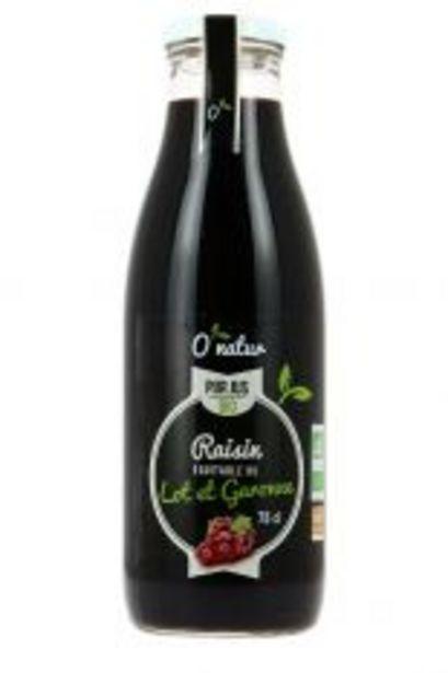 Pur Jus de Raisin 75cl Bio offre à 2,5€