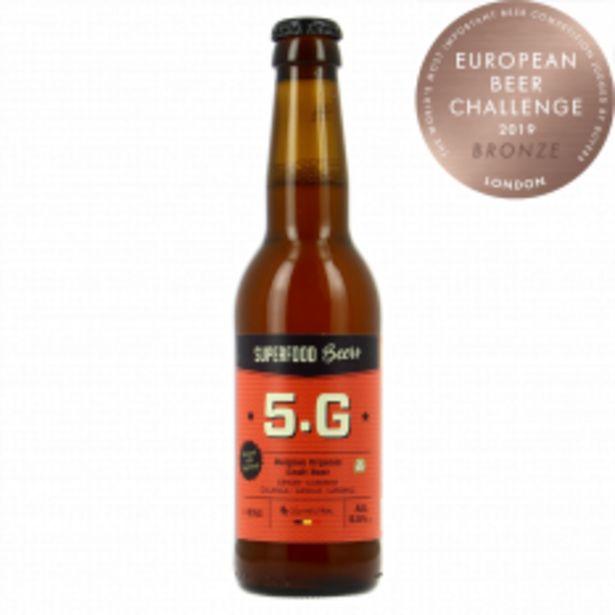 Bière 5.G Blonde 33cl Bio offre à 2,15€