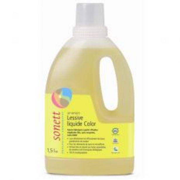 Lessive Liquide Couleur 1.5L offre à 6,99€