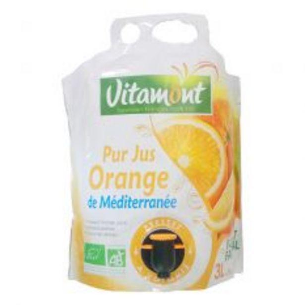 Pack jus d'orange de Méditerranée Format Familial ... offre à 9,45€