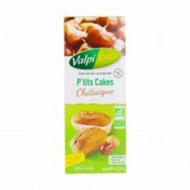 P'Tit Cake Châtaigne sans gluten 220G Bio offre à 5,1€
