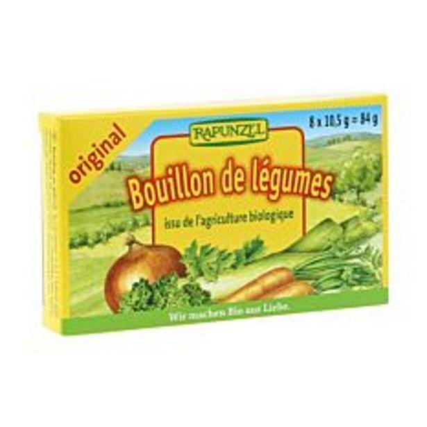 Bouillon de légumes en cubes 84G Bio offre à 1,74€