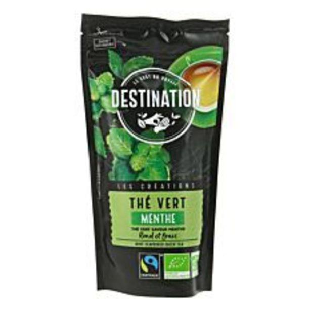 Thé vert à la menthe 100G Bio offre à 5,2€