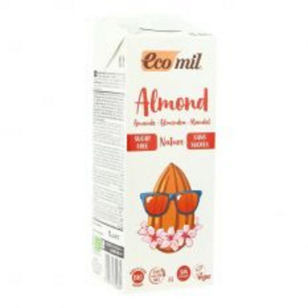 Lait d'amande nature sans sucres 1L Bio offre à 3,15€