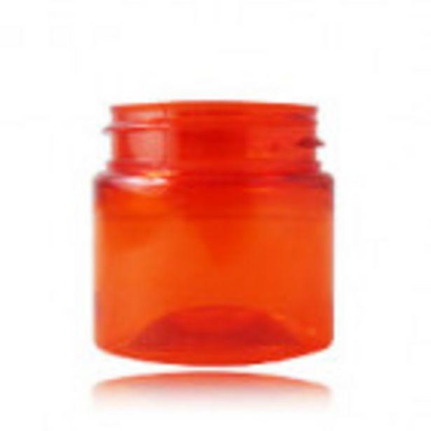 Pot PET recyclé 50 ml orange TINY offre à 0,35€