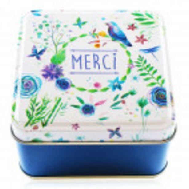 Boîte en métal MERCI offre à 1,2€